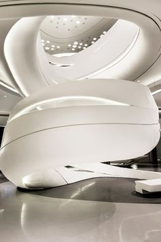 Zaha Hadid Architects Shanghai Showroom Images by Marco Jacobs