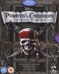 Pirates of the Caribbean 1-4 Box Set [Blu-ray] 9.99 (Prime) Amazon 11.98