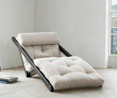 Figo Wenge & Natural Kihúzható nappali heverő - Vivre