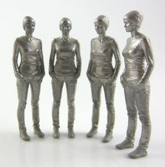 3D Printed#titanium#people#personlized#awards# www.ziggzagg.be