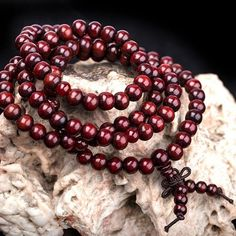 Sandalwood Prayer Beads Bracelet