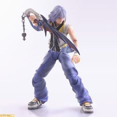 From the popular JRPG Kingdom Hearts a cool action figure of Riku. Extremely posable with lots of extra parts like hands and his Key blade. There's no limit to the fun you can have with this Play Arts Kai action figure by Square Enix. Disney Time, Disney Fun, Monster High Boys, Riku Kingdom Hearts, Best Rpg, Kindom Hearts, Lonely Heart, Custom Action Figures, Anime Figures