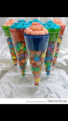 For kids birthday party Although I think I would make it with fruits, and a little less sugah ;)