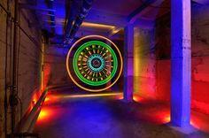 Light Art by Sven Gerard. l #lightpainting