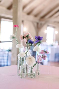Pennsylvania Wedding, Lancaster Wedding, Wedding Florals, Wedding Cocktail Hour, Bright Blooms, Photo by Elizabeth Moore Photography, Florals by We Are Wildflowers, Planned by Shannon Wellington Weddings Shannon Elizabeth, Centerpieces, Table Decorations, Lancaster, Wildflowers, Pennsylvania, Floral Wedding, Real Weddings, Florals