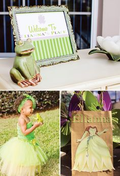 Darling Princess and the Frog Birthday Party