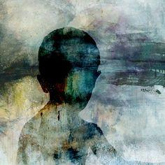 """Saatchi Online Artist eva christin laszka; Mixed Media, """"Blue boy"""" #art"""