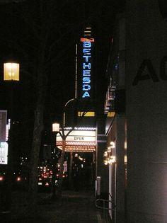 Bethesda Theater (7719 Wisconsin Avenue, Bethesda Maryland).