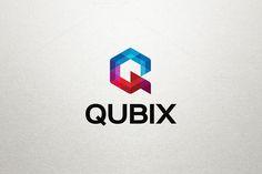 Q Letter Logo - Qubix by Arslan on Creative Market