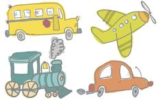 Planes, Trains and Automobiles - Free digital artwork from Creative Memories