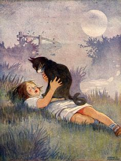 kittehkats:  He Had Come Back To Find Me Honor C. Appleton (1879 – 1951, English)