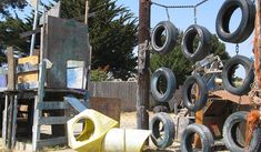 "the latest in DIY playgrounds: ""adventure"" playgrounds  this one in Berkeley, CA"