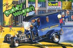 Tom Daniel's Paddy Wagon Revell 1/25 Scale Model