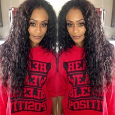 Tami Roman Wearing Her Own Line Of Hair
