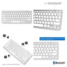 Apple Magic Keyboard Wireless Bluetooth Apple Ipad/Iphone /Mac Book New For You.