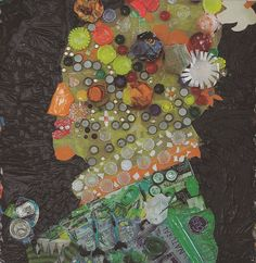 Las TIC en Plástica » Arte y reciclaje para el Blog Action Day