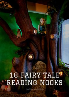 These reading nooks are magical enough to make any book lover feel like they've stumbled into their own personal fairy tale. Reading Nook Kids, Library Inspiration, Word Nerd, Any Book, Inner Child, Book Nooks, Dream Decor, Kidsroom, Great Books