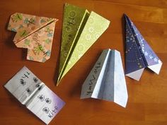 Make and fly paper airplanes. Measure the distance to sneak in some math!