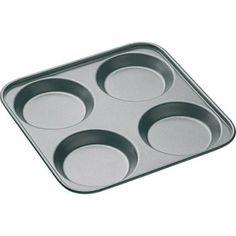Kitchen Craft Master Class Non-Stick 4 Hole Yorkshire Pudding Pan...I love it!