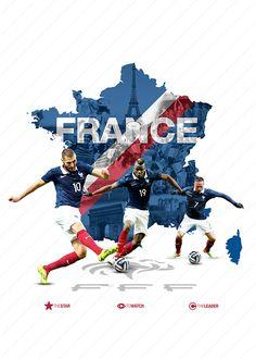 World Cup 2014 - Teams on Behance Football Ads, Football Design, Football Today, Soccer World, World Football, France World Cup 2014, Lionel Messi, Soccer Art, Soccer Tips