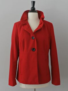 Red Coat Jacket Wome