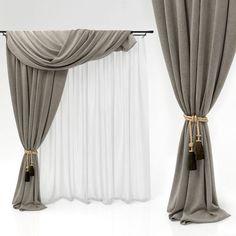 curtains 51 3d model max obj mtl 1