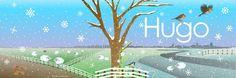 Hugo birth card outer by Josien van Brussel