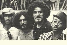 Raimundo Fagner, Moraes Moreira, Zé Ramalho e Jackson do Pandeiro em 1980.  Veja mais em: http://semioticas1.blogspot.com.br/2012/02/bob-dylan-no-brasil.html