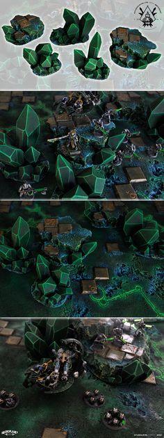 NECRON CRYSTALS ROCKS HILLS BOX [2014]