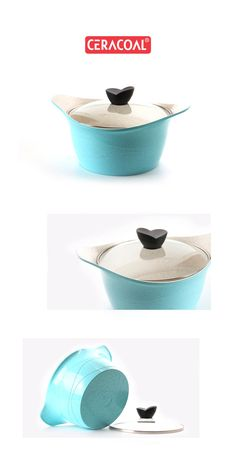 CERACOAL - New trendy color | Excellent durability & nonstick performance | Eco-friendly Cookware