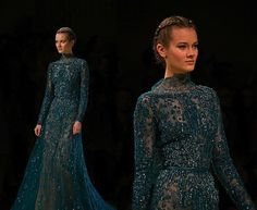 Elie Saab Couture F/W 12 Show (Photos by Kevin Alfaiza)