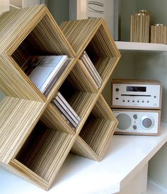 honeycomb pattern, cd storage rack