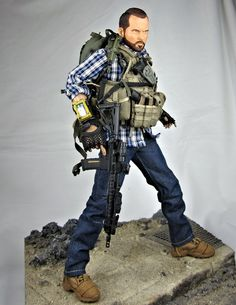 Airsoft, Military Action Figures, Custom Action Figures, Military Police, Usmc, The Division Gear, Tactical Uniforms, Tac Gear, Special Ops