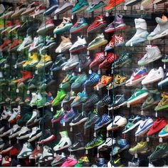 My Shoe Collection. | Shoe store, Kd 7