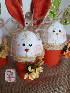 Read information on Easter crafts & ideas Easy Easter Crafts, Diy Crafts For Kids, Easter Tree, Easter Eggs, Tilda Toy, Clay Pot Crafts, Easter Bunny Decorations, Spring Crafts, Easter Baskets