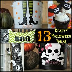 13 Perfectly Creepy Halloween Crafts and Recipe Ideas! #Halloween_Ideas #Halloween #HalloweenCrafts