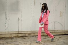 See All the Best Street Style from Milan Fashion Week: Yoyo Cao