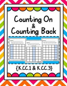 Develop number fluency with this activity that's perfect for math bins, centers, home practice, or assessment! Students roll a number cube, record the number, and then count on or count backwards. Easy to differentiate by using two number cubes, a spinner, etc… Print 2 sided for plenty of room to work.   Also included is an editable version where you choose the target numbers and type them in before printing. A great option for assessment!