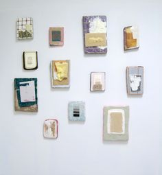 Katie Bell, Samples installation view.