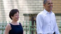 """President Barack Obama's former top White House adviser Valerie Jarrett is moving in with him and will help him in an """"insurgency"""" against President Donald Trump, LOVE BOAT...."""