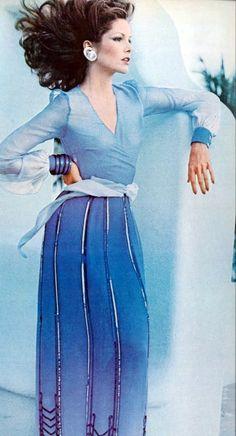 Lois Chiles - Vogue 1973