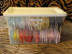 Lots of ideas on how to make my own ribbons holder! -- Need this!