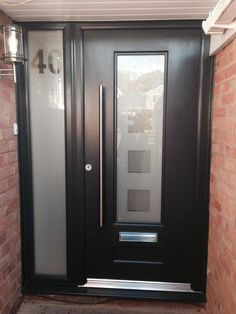 We are a leading home improvement company in Stamford and have been established since Whether you are looking to replace a uPVC wind Home Improvement Companies, Stair Landing, Composite Door, House Doors, Back Doors, Porch Ideas, Door Ideas, House Front, Door Design