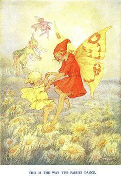 'This is The Way The Fairies Dance' by Hilda T. Miller, 1930s
