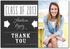Don't forget to thank everyone after your graduation party!