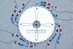 Beaded kumihimo tutorials — CSLdesigns