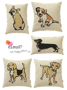 Cloud7 {Fair Trade} Dog Pillows