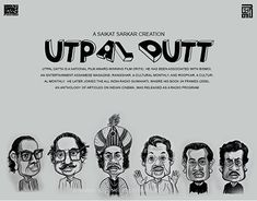 Utpal Datta is a National Film Award-winning film critic. He has been associated with Bismoi, an entertainment Assamese magazine; He later joined the All India Radio Guwahati, where his book Bengali Art, Satyajit Ray, National Film Awards, Logo Design, Graphic Design, Caricature, New Work, Vintage Posters, Storytelling