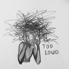 Sad Drawings, Dark Art Drawings, Art Drawings Sketches, Dark Art Illustrations, Indie Drawings, Music Drawings, Drawings With Meaning, Art With Meaning, Illustration Art