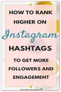 Digital Marketing Quotes, Digital Marketing Business, Social Media Digital Marketing, Instagram Marketing Tips, Instagram Tips, How To Use Hashtags, Social Media Posting Schedule, More Followers On Instagram, How To Get Followers